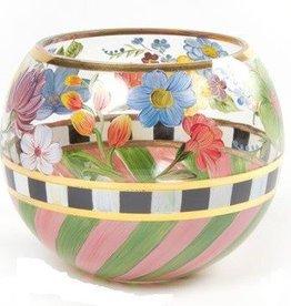 MacKenzie-Childs Flower Market Large Glass Globe Vase