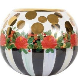 MacKenzie-Childs Heirloom Medium Glass Globe Vase