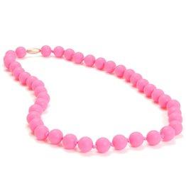 Chewbeads Chewbeads Jane Necklace - Punchy Pink
