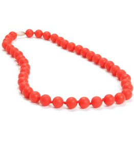 Chewbeads Chewbeads Jane Necklace - Cherry Red