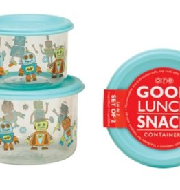 Ore Originals Good Lunch Containers- Retro Robot Small