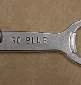 "Kimberly Monaco Designs ""Go Blue"" Bottle Opener Keychain"