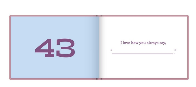 knock knock what i love about you sis fill in the blank journal