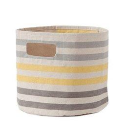 Pehr Grey/Yellow Three Stripe Pint