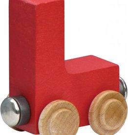Maple Landmark Name Train Bright Letter-L