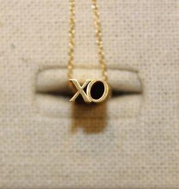 Beth Macri Gold XO Hidden Message Necklace