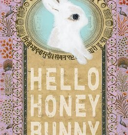 Papaya Honey Bunny Card