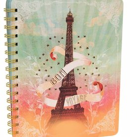 Papaya Spiral Notebook