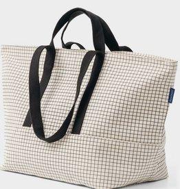 Baggu Weekend Bag Natural Grid