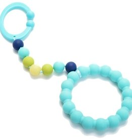 Chewbeads Chewbeads Baby Gramercy Stroller Toy/Car Seat Attachment - Turquoise