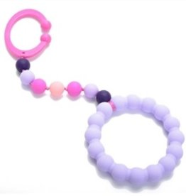 Chewbeads Chewbeads Baby Gramercy Stroller Toy/Car Seat Attachment - Violet