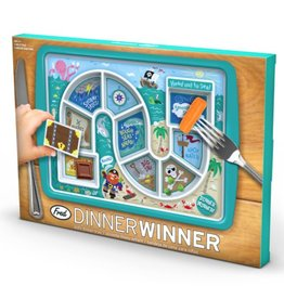 Fred & Friends Dinner Winner Pirate Plate