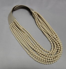 Fairchild Baldwin Extended Bella Necklace - Ivory