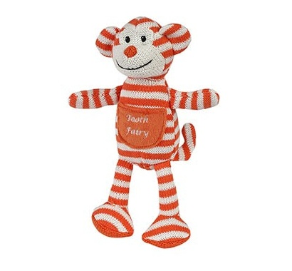 Maison Chic Bonkers The Monkey Tooth Fairy Pillow