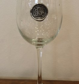 Southern Jubilee Stem Wine Glass-Inital R