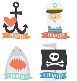 Lucy Darling Little Sea Captain Monthly Stickers