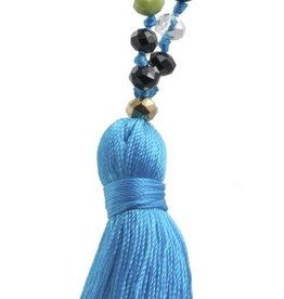Amadoria Talya Tassle Necklace- Multicolor/Blue