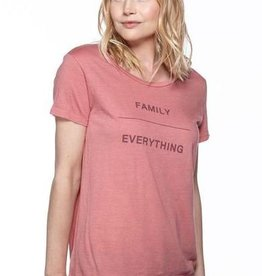 good hYOUman Family/Everything Scoop Neck Tee