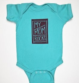 He Said, She Said My Mom Rocks Onesie (6-12mo)