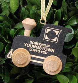 Maple Landmark Youngstown Train Ornament