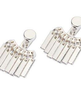 Jenny Bird Raya Earrings SIlver
