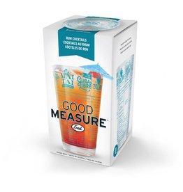 Fred & Friends Good Measure- Rum Recipe Glass
