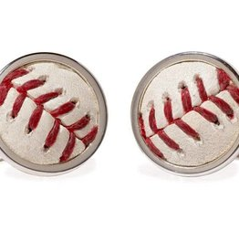 Tokens & Icons Pirates Baseball Cuff Links