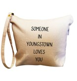 Retrospect Group Someone in Youngstown Loves You Makeup Bag