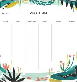 Idlewild Co. Jungle Weekly Desk Pad