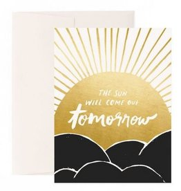 Idlewild Co. Sun Will Come Out Card
