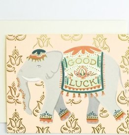 Idlewild Co. Lucky Elephant Card