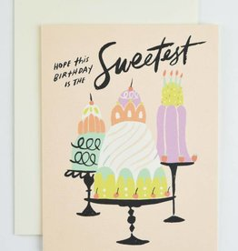 Idlewild Co. Sweetest Birthday Card