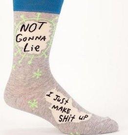 Blue Q Men's Socks - Not Gonna Lie