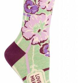 Blue Q Women's Socks Love Ya