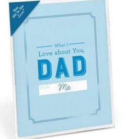 Knock Knock What I Love About Dad Card Booklet