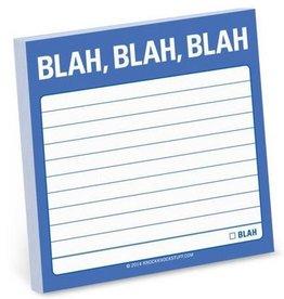 Knock Knock Blah Blah Blah Sticky Notes