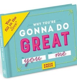 Knock Knock Why You're Gonna Do Great Things Book