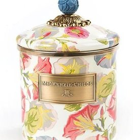 MacKenzie-Childs Morning Glory Canister-Small