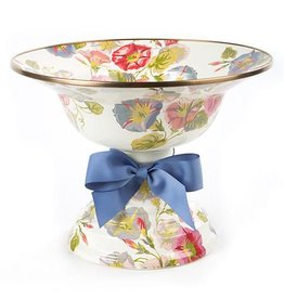 MacKenzie-Childs Morning Glory Compote-Large