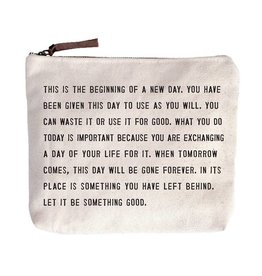 Sugarboo Designs This Is The Beginning Canvas Bag