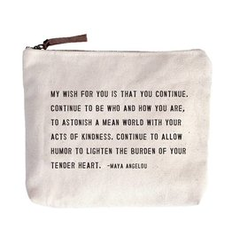 Sugarboo Designs My Wish For You Canvas Bag