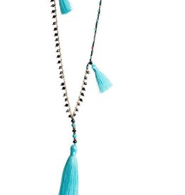 Amadoria Lara Necklace- Aqua