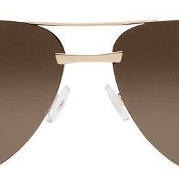 Quay The Playa Sunglasses Gold/Brown