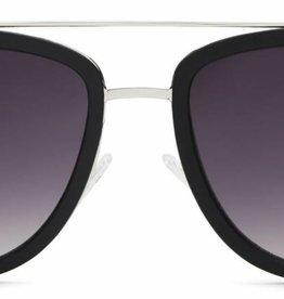 Quay French Kiss Sunglasses Black/Smoke
