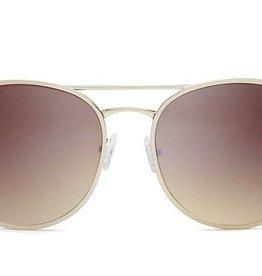 Quay Cherry Bomb Sunglasses Gold/Brown