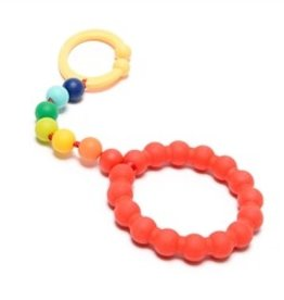 Chewbeads Chewbeads Baby Gramercy Stroller Toy/Car Seat Attachment - Rainbow