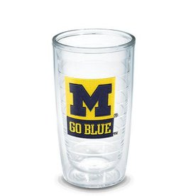 Tervis Michigan Go Blue Emblem 16oz. Tumbler
