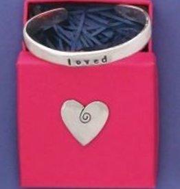 Basic Spirit Baby Cuff Bracelet-Loved