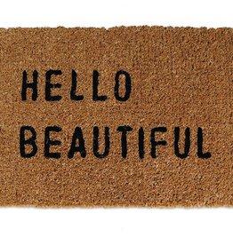 Sugarboo Designs Hello Beautiful Door Mat