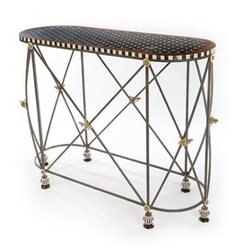MacKenzie-Childs Honeycomb Console Table